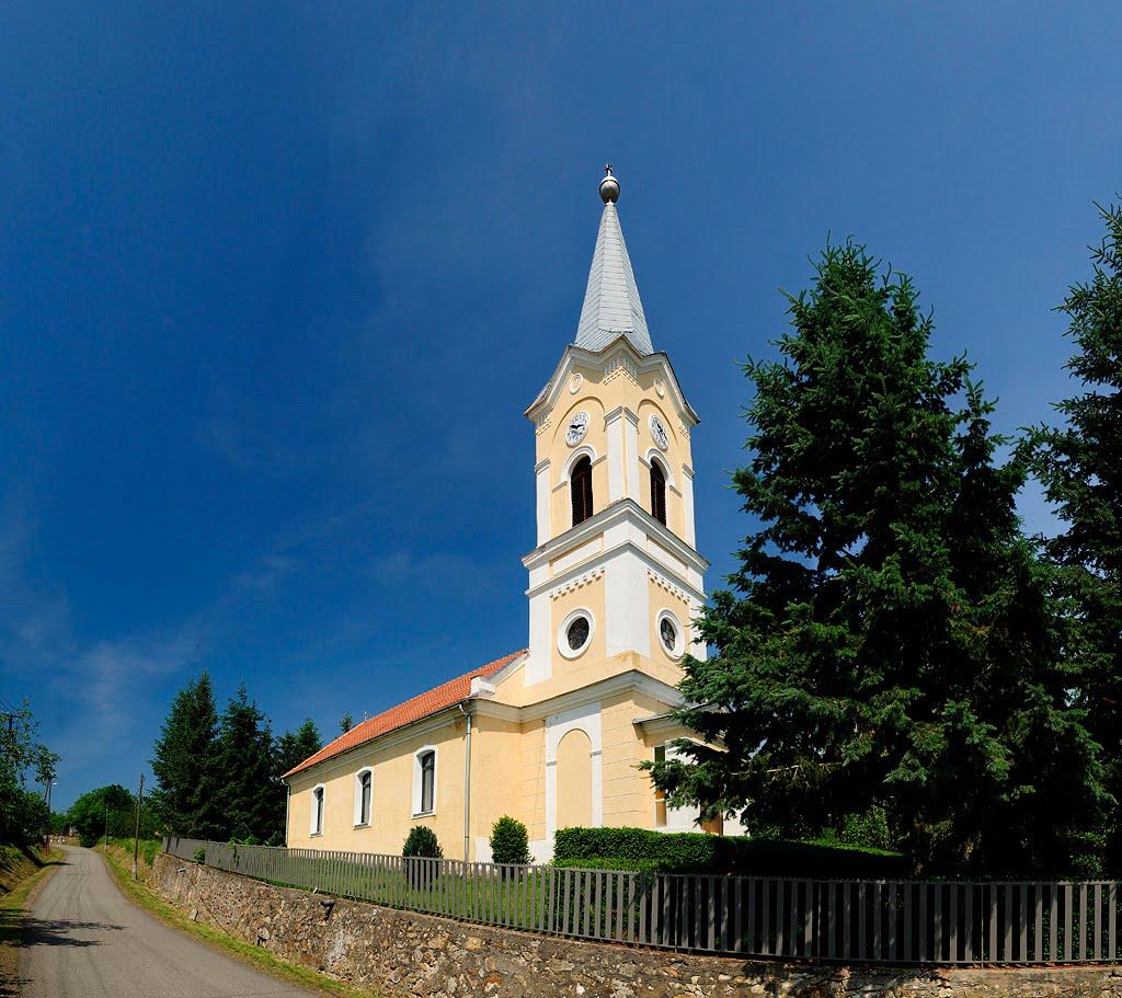 Református templom, Füzérradvány
