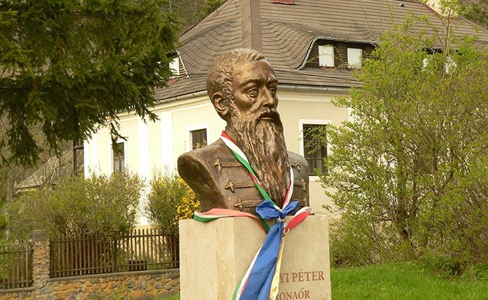 Perényi Péter mellszobor, Füzér